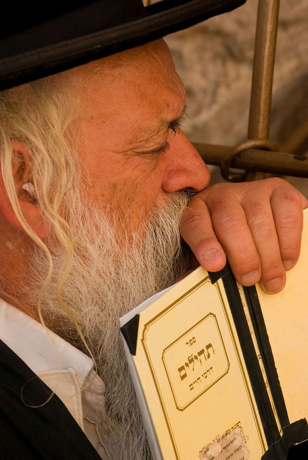 Orthodox Jewish-Psalms-Western Wailing Wall