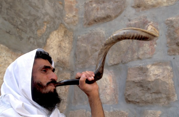 Shofar-sounding