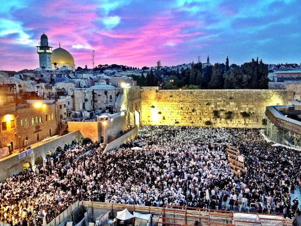 Western Wall, Jerusalem, Shavuot