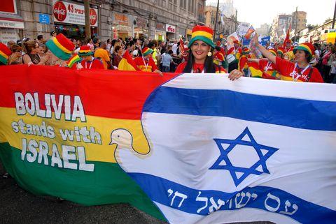 Bolivia-Sukkot March-Jerusalem