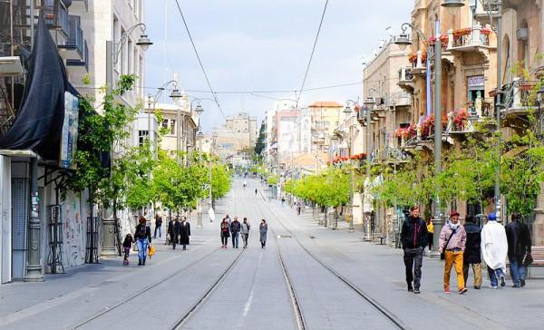 Jaffa Road-Jerusalem-Shabbat