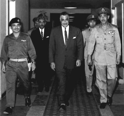 Nasser Hussein-Amer-Egyptian-Jordanian-defense pact
