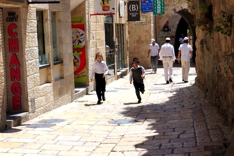 Jerusalem-street-boys running