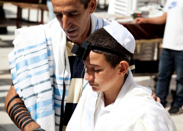 Father-Son-Western Wall