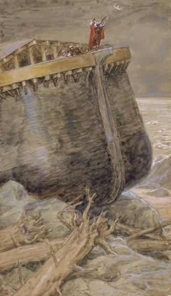 The Dove Returns to Noah-James Tissot