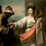 West,_Benjamin_-_Isaac's_servant_trying_the_bracelet_on_Rebecca's_arm_