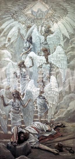 Jacob's Dream-James Tissot