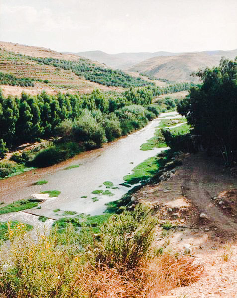 Jabbok River-Zarqa