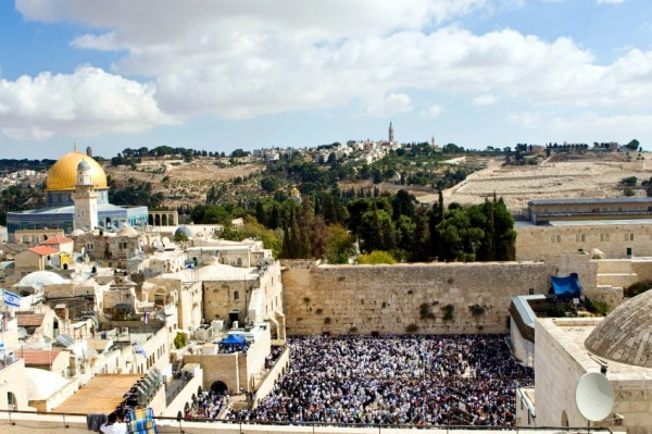 Kotel-Crowd-Western (Wailing) Wall