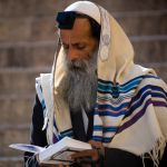 Shacharit morning prayers-tefillin-tallit-siddur
