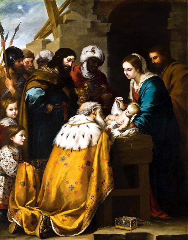 Adoration of the Magi-Bartolomé Esteban Murillo