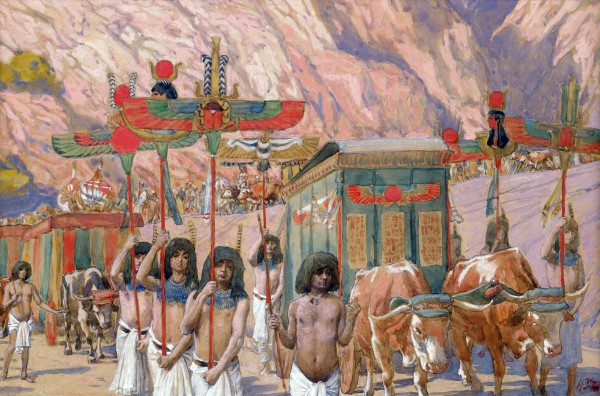 Jacob's Body-Egypt-James Tissot