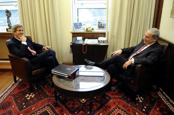 Kerry-Netanyahu-Jerusalem