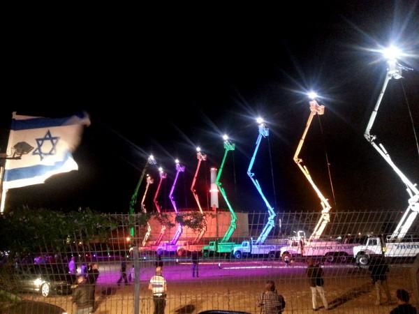 Hanukkiah-Chanukah Menorah-Tel Aviv