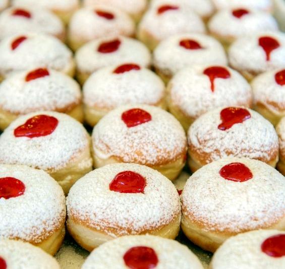 Sufganyot-Hanukkah-Fried foods