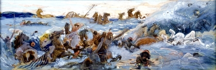 Tissot-The Egyptians Are Destroyed
