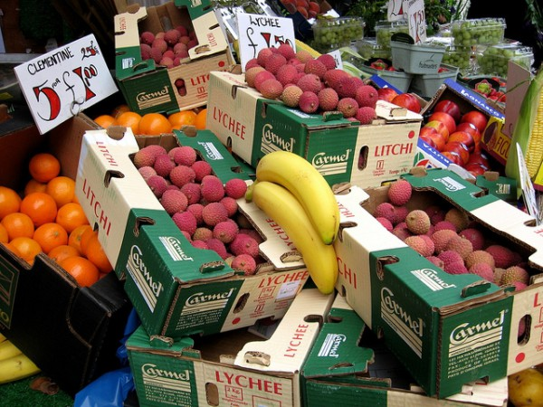 Israel-lychee-fruit-product labeling