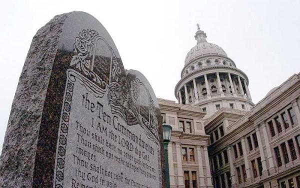 Ten Commandments-Texas State Capitol-Austin