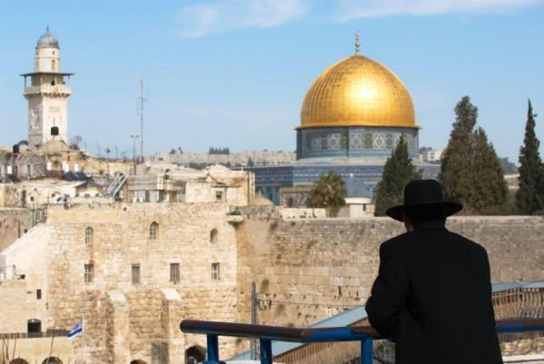 Orthodox Jewish-looks out