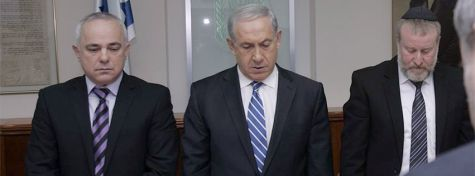 minute-of-silence-for-Ariel-Sharon-yesterday-at-the-beginning-of-the-weekly-Cabinet-meeting