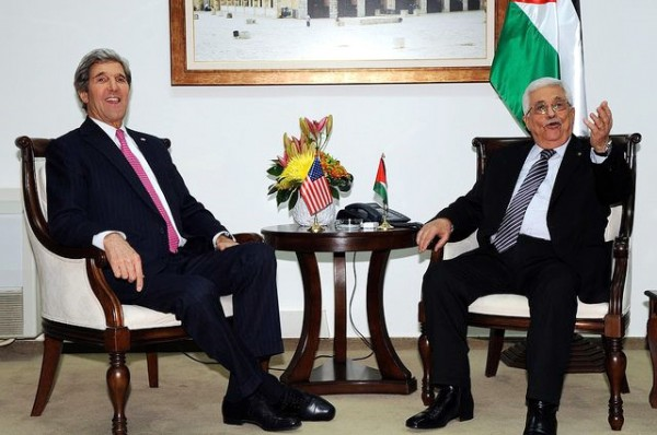 John Kerry-Mahmoud Abbas