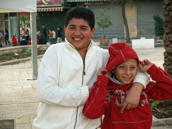 Palestinian-Kids-in-Nazareth-by-David-Shankbone
