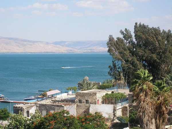 The Sea of Galilee-Lake Tiberias-Kinneret-Lake of Gennesaret