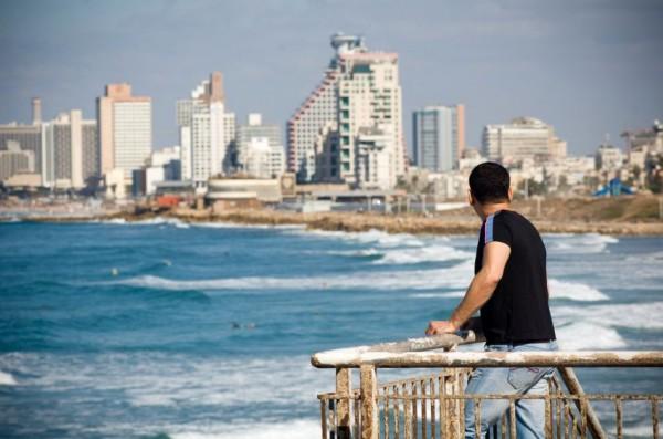 Tel-Aviv-coastline