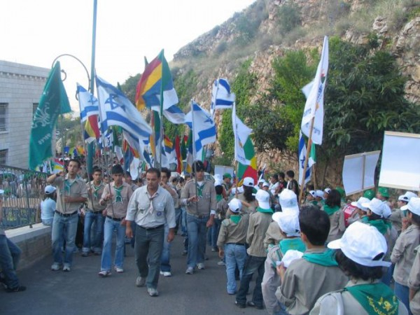 Israel-Druze-scouts-at-jethro-holy-place