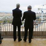 John Kerry and Benjamin Netanyahu in Jerusalem