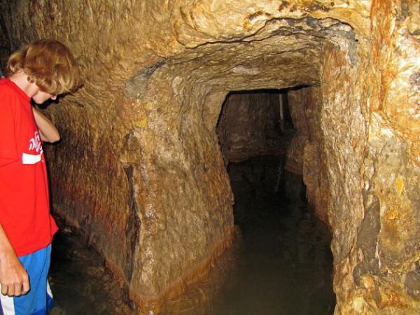 Gihon Spring to the Pool of Siloam through Hezekiah's Tunnel