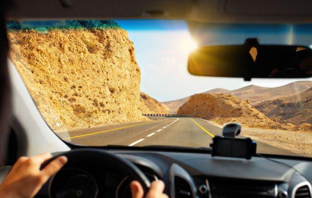 Dead sea-mountain-road-dangerous