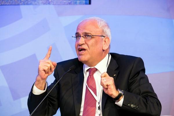 Saeb Erekat-chief Palestinian negotiator-peace talks