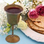 Passover seder, matzah, goblet wine