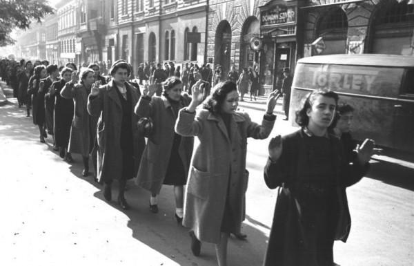 Jewish women-Budapest-October 1944