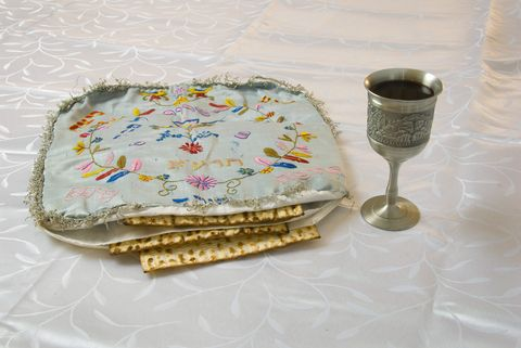 The origin of the three matzot in the matzah tosh, and the afikomen, remains shrouded in mystery. While its messianic symbolism seems to have always been evident, its meaning is not discussed during the traditional Seder.