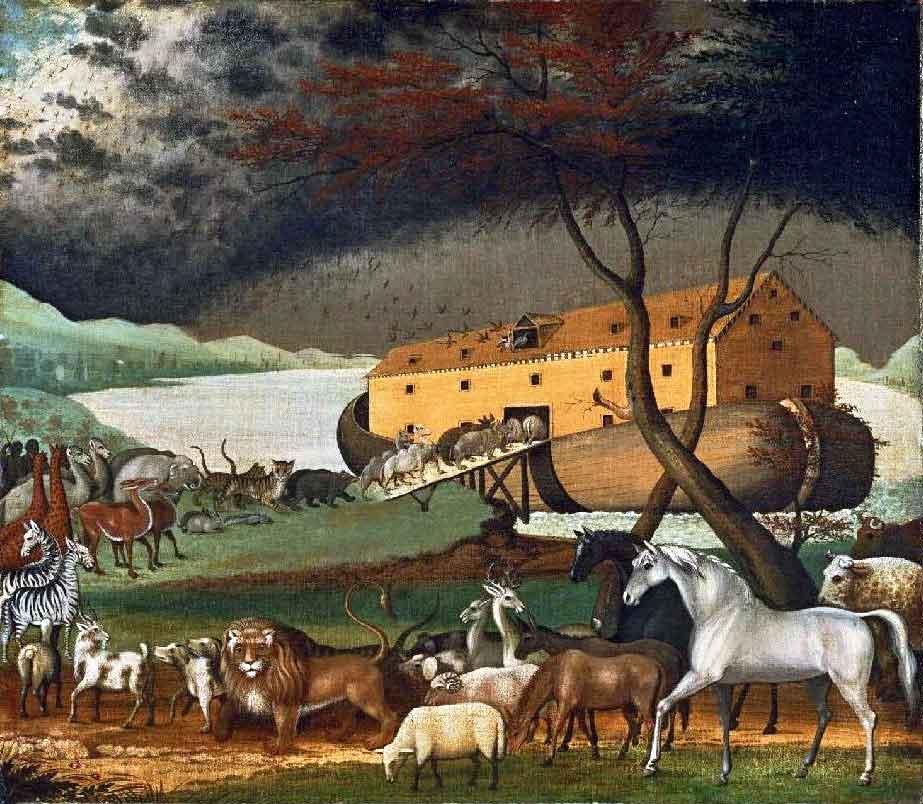 Noah's Ark-Edward Hicks