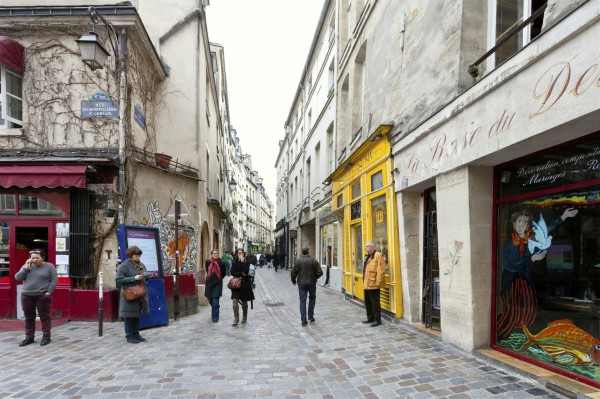 Paris-Jewish quarter- Le Marais-France