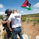 Nakba Day-IDF-Palestinian activist-West Bank