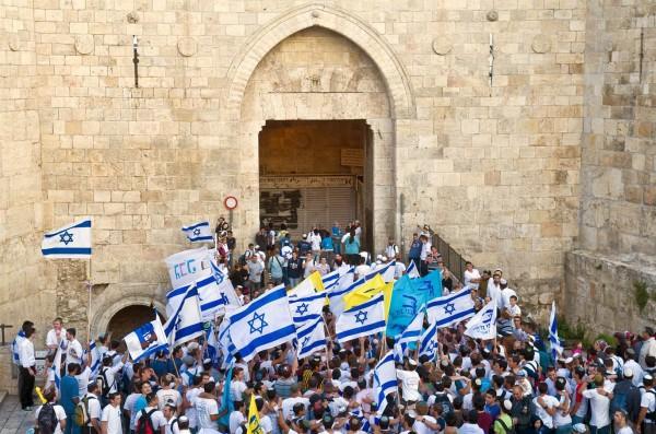 Damascus-Gate-march-Yom-Yerushalayim-Jerusalem-Day