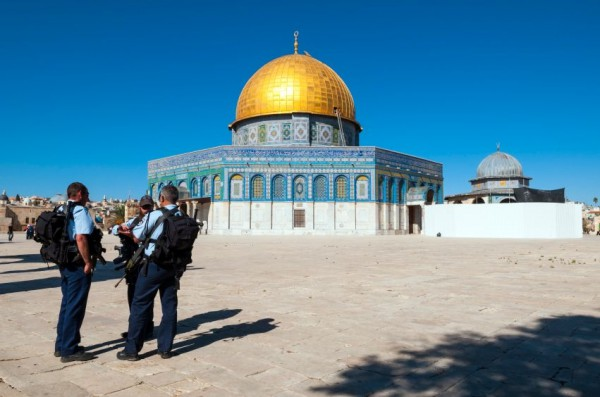 Temple Mount-security-Jews
