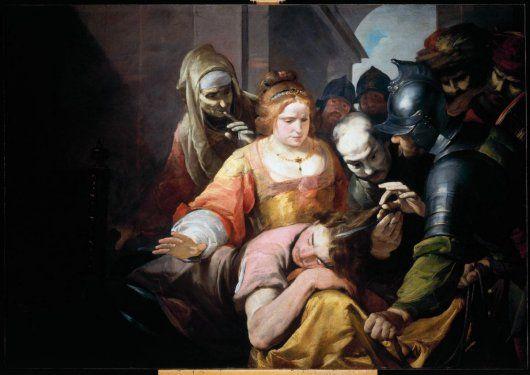 Samson and Delilah-Gioacchino Assereto