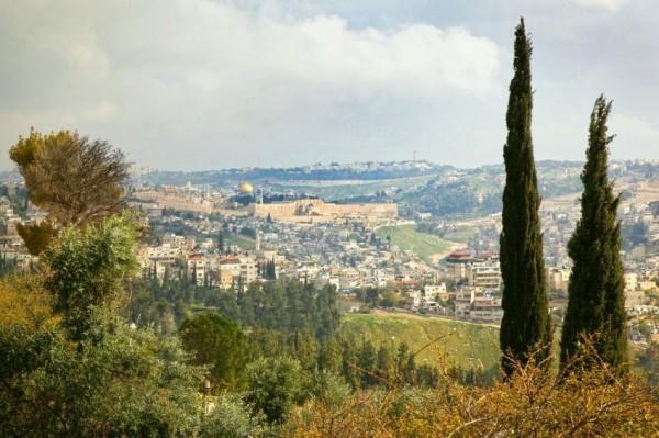 Old City-Jerusalem-view