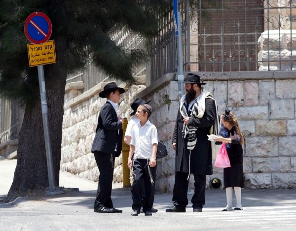 Israeli-father-and-children