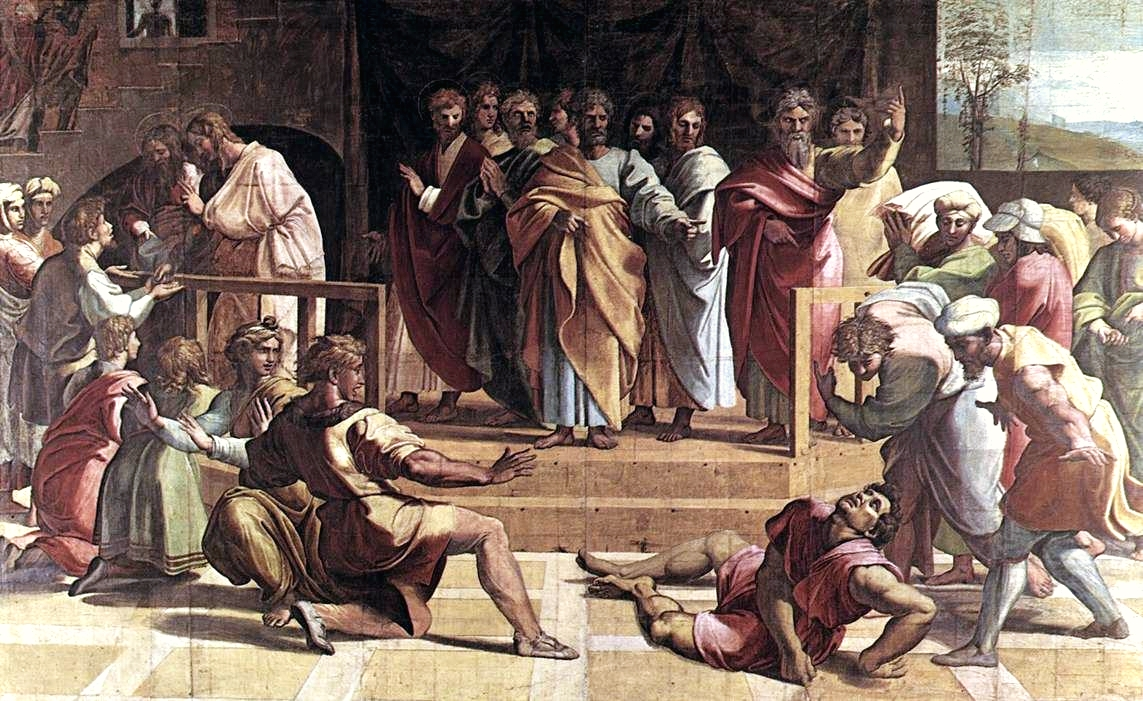 The Death of Ananias-Raphael