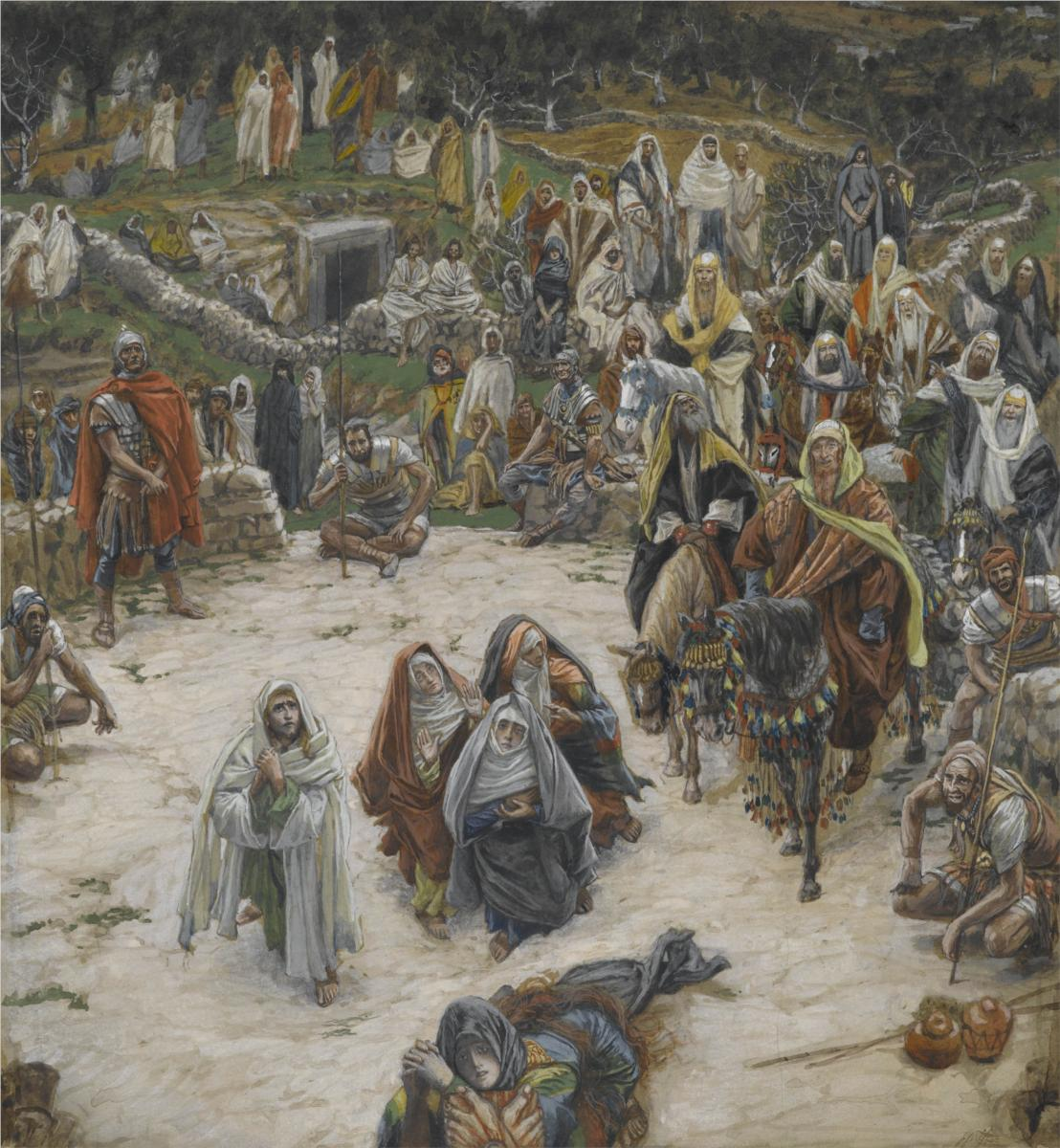 The Crucifixion, Seen From the Execution Stake, by James Tissot