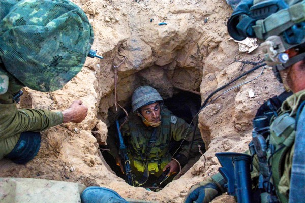 IDF Paratroopers Disable Terrorist Tunnel Networks in Gaza