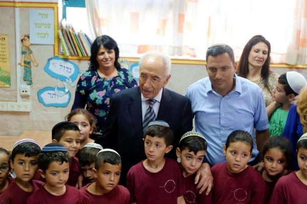 Peres-Sderot children-Operation Protective Edge