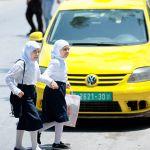 West Bank schoolgirls-Judea-Samaria-Palestinian