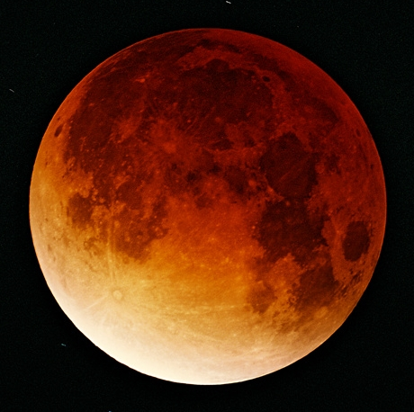 Due to its reddish color, a total eclipse of the moon is sometimes referred to as a blood moon.   A Blood Moon Tetrad  is a consecutive sequence of four lunar eclipses, spaced six months apart.  The Tetrad occurring in 2014 and 2015 is rare in that it coincides with the Jewish holidays of Passover and Sukkot.  Past tetrads such as this have signaled key events for the Jewish People and Israel.
